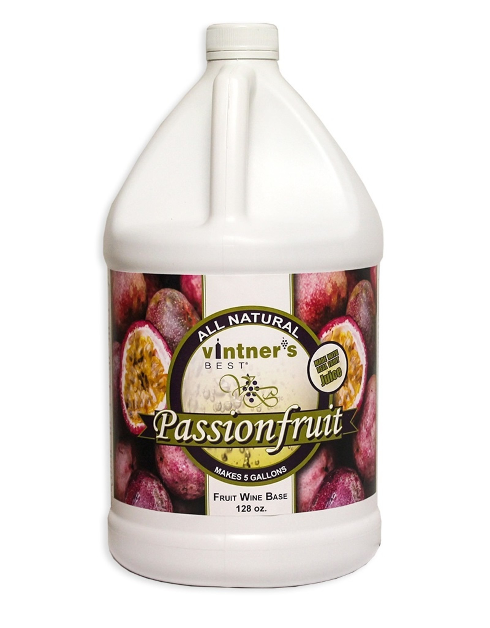 PASSIONFRUIT WINE BASE 128 OZ (1 GALLON)