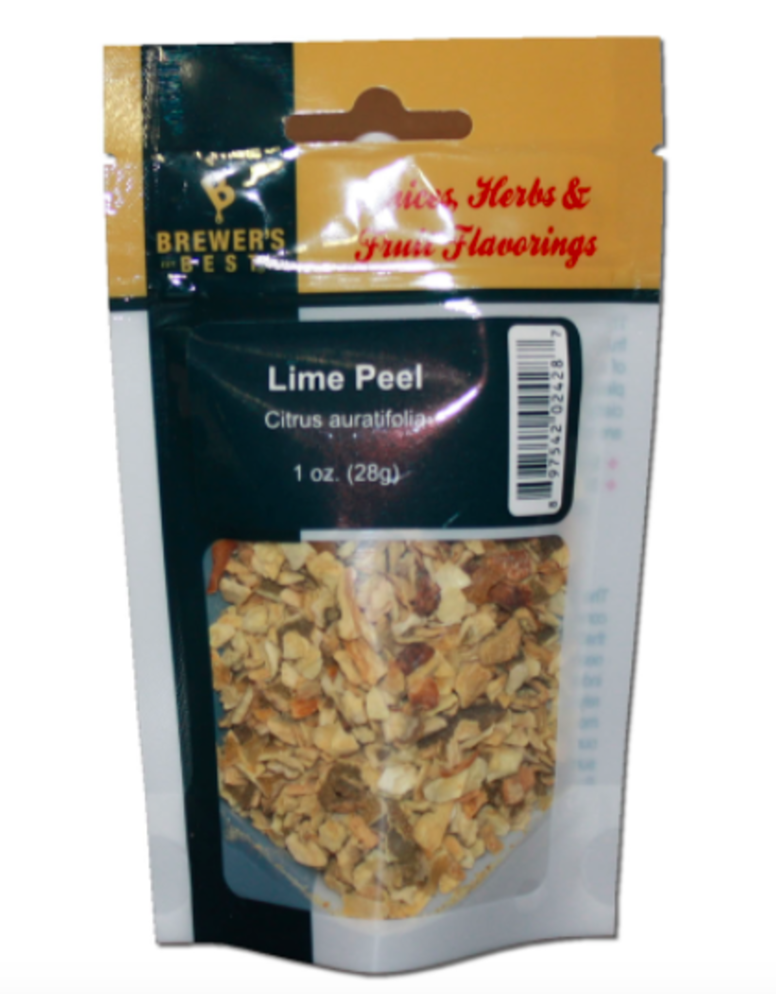 BREWER'S BEST  LIME PEEL 1 OZ