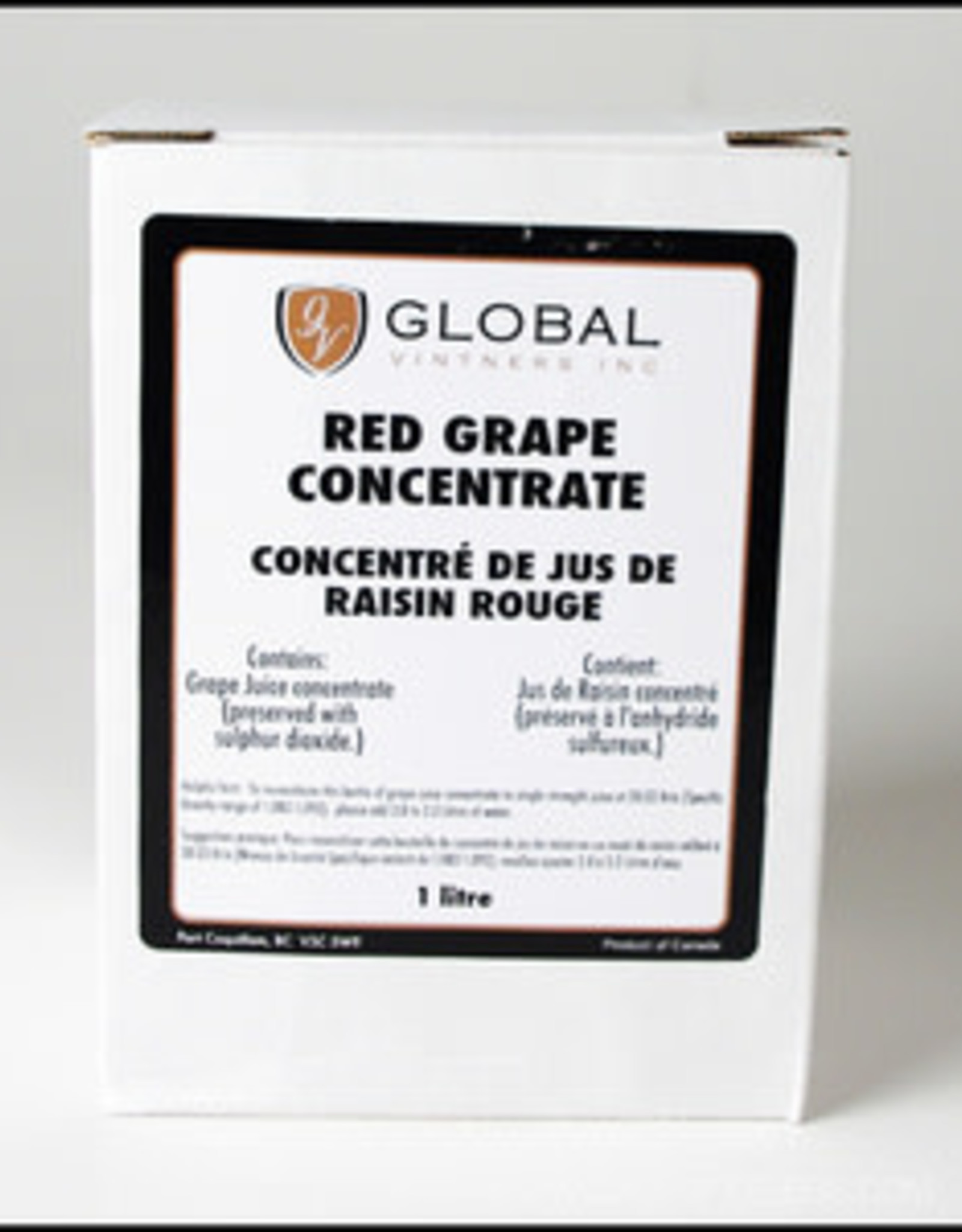 RED GRAPE CONCENTRATE 1 LITER
