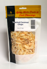 TOASTED COCONUT CHIPS 4 OZ