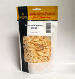 BREWERS BEST TOASTED COCONUT CHIPS 4 OZ