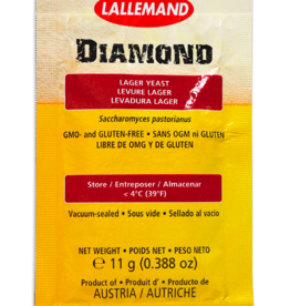 LALLEMAND LALLEMAND DIAMOND LAGER BREWING YEAST 11 GRAM