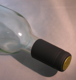 BLACK PVC SHRINK CAPSULES 30 COUNT