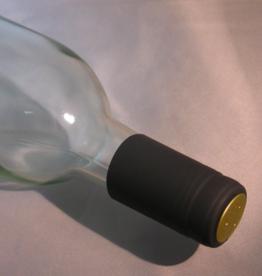 BLACK PVC SHRINK CAPSULES