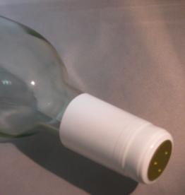 WHITE PVC SHRINK CAPSULES 30/BAG