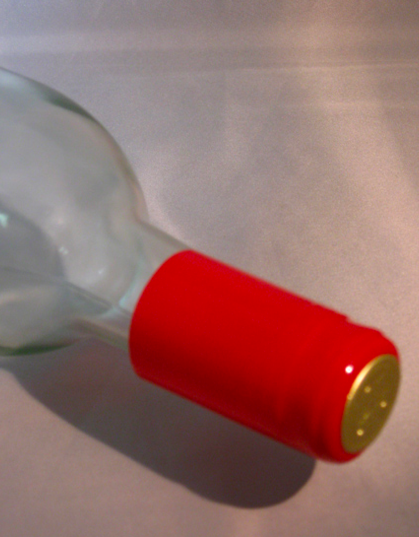 RED PVC SHRINK CAPSULES 30/BAG
