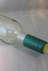 METALLIC SOLID GREEN PVC SHRINK CAPSULES 30/BAG