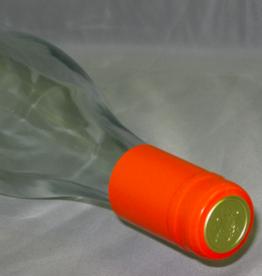 ORANGE PVC SHRINK CAPSULES 30/BAG