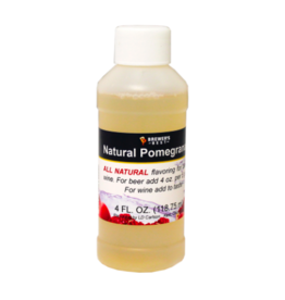 BREWERS BEST NATURAL POMEGRANATE FLAVORING EXTRACT 4 OZ