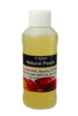 NATURAL PEACH FLAVORING EXTRACT 4 OZ