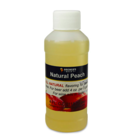 BREWERS BEST NATURAL PEACH FLAVORING EXTRACT 4 OZ