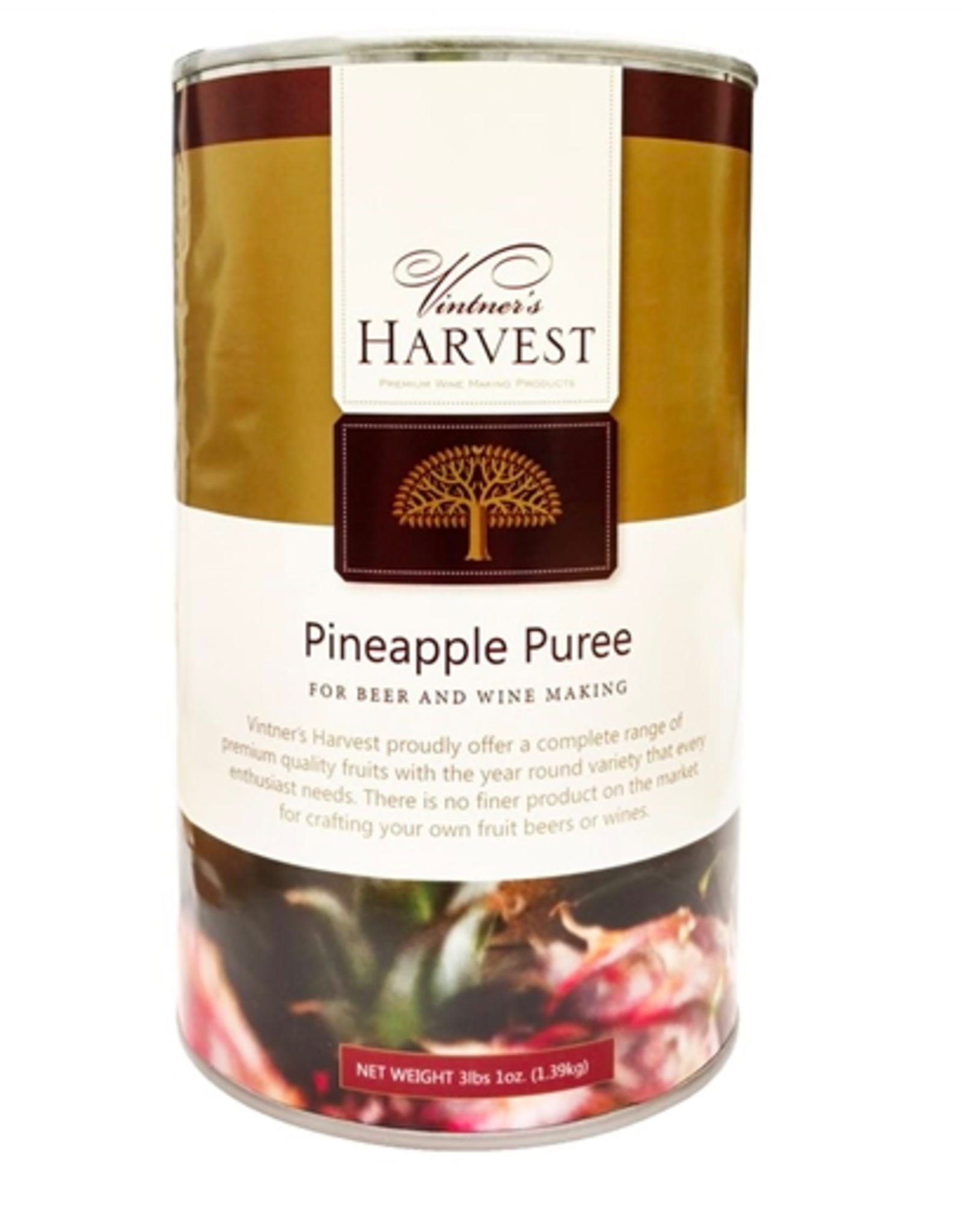 PINEAPPLE PUREE 3 lbs