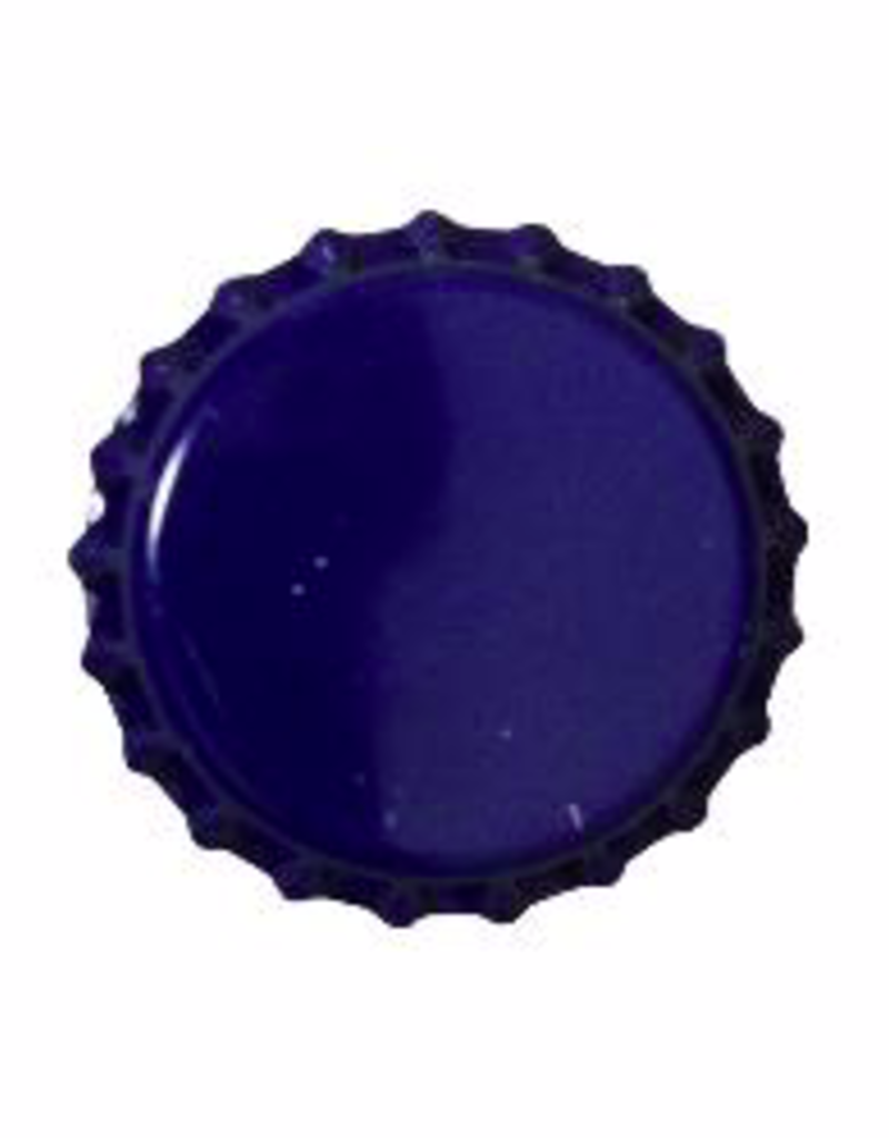 BLUE CROWN CAPS WITH OXY-LINER
