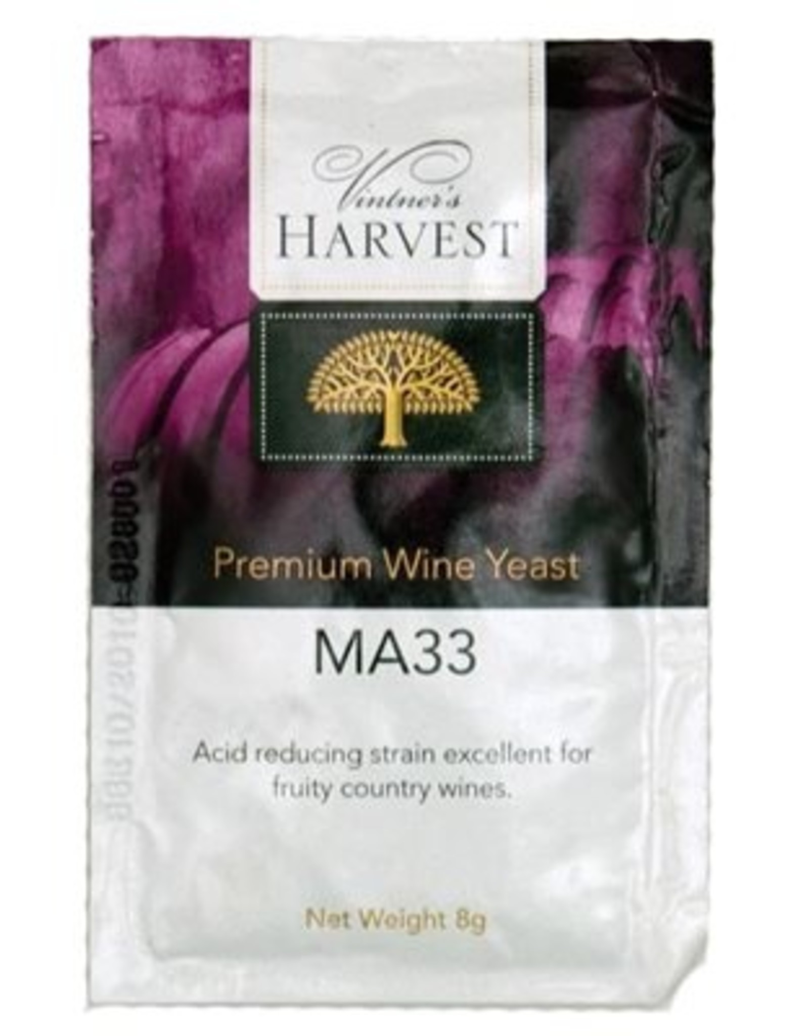 MA33 -JACKGROVE JACK'S WINE YEAST 8g