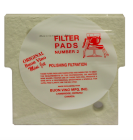FILTER MINI PAD #2 POLISH MICRON 1.8 (3/PKG)