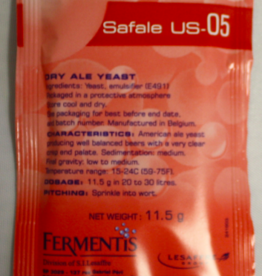 SAFALE US-05 DRY ALE YEAST 11.5 GRAMS