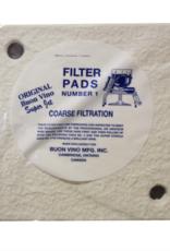 FILTER SUPER PAD #1 COARSE MICRON 5.0 (3/PKG)