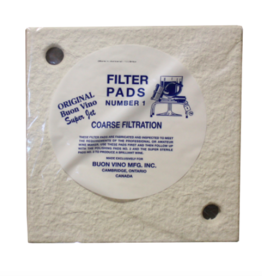 BUON VINO FILTER SUPER PAD #1 COARSE MICRON 5.0 (3/PKG)