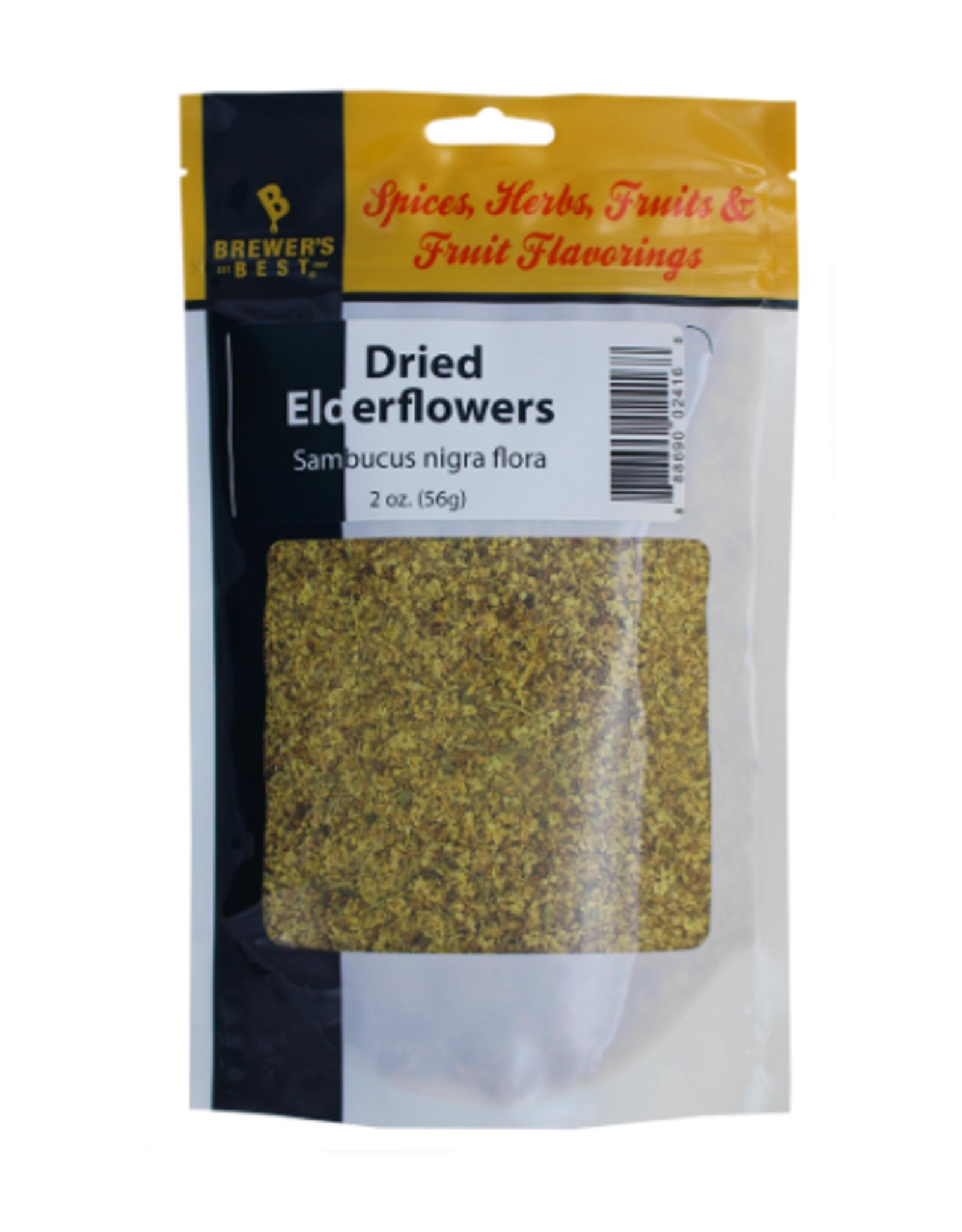 DRIED ELDER- FLOWERS 2 OZ