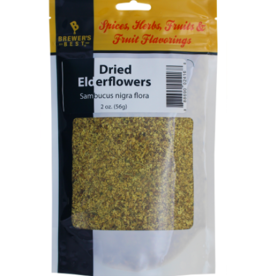 DRIED ELDER- FLOWERS 2 OZ