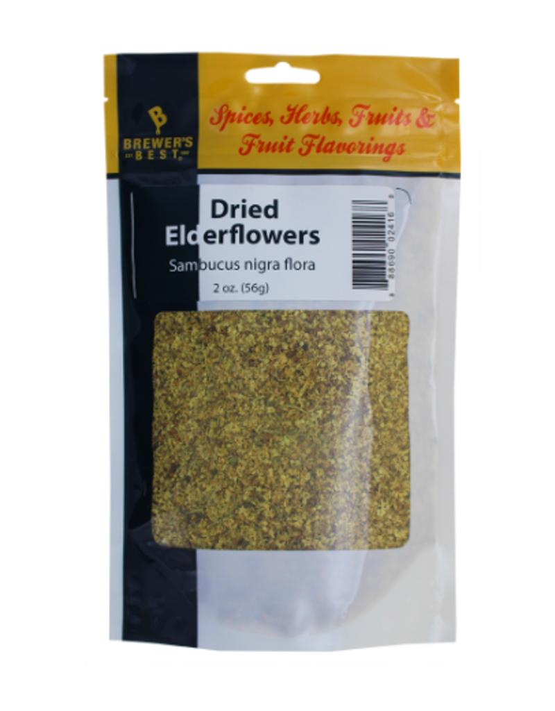 BREWERS BEST DRIED ELDER- FLOWERS 2 OZ