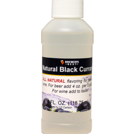 BREWERS BEST NATURAL BLACK CURRANT FLAVORING EXTRACT 4 OZ