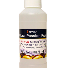 NATURAL PASSION FRUIT FLAVORING EXTRACT 4 OZ