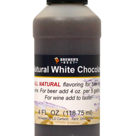 NATURAL WHITE CHOCOLATE FLAVORING EXTRACT 4 OZ