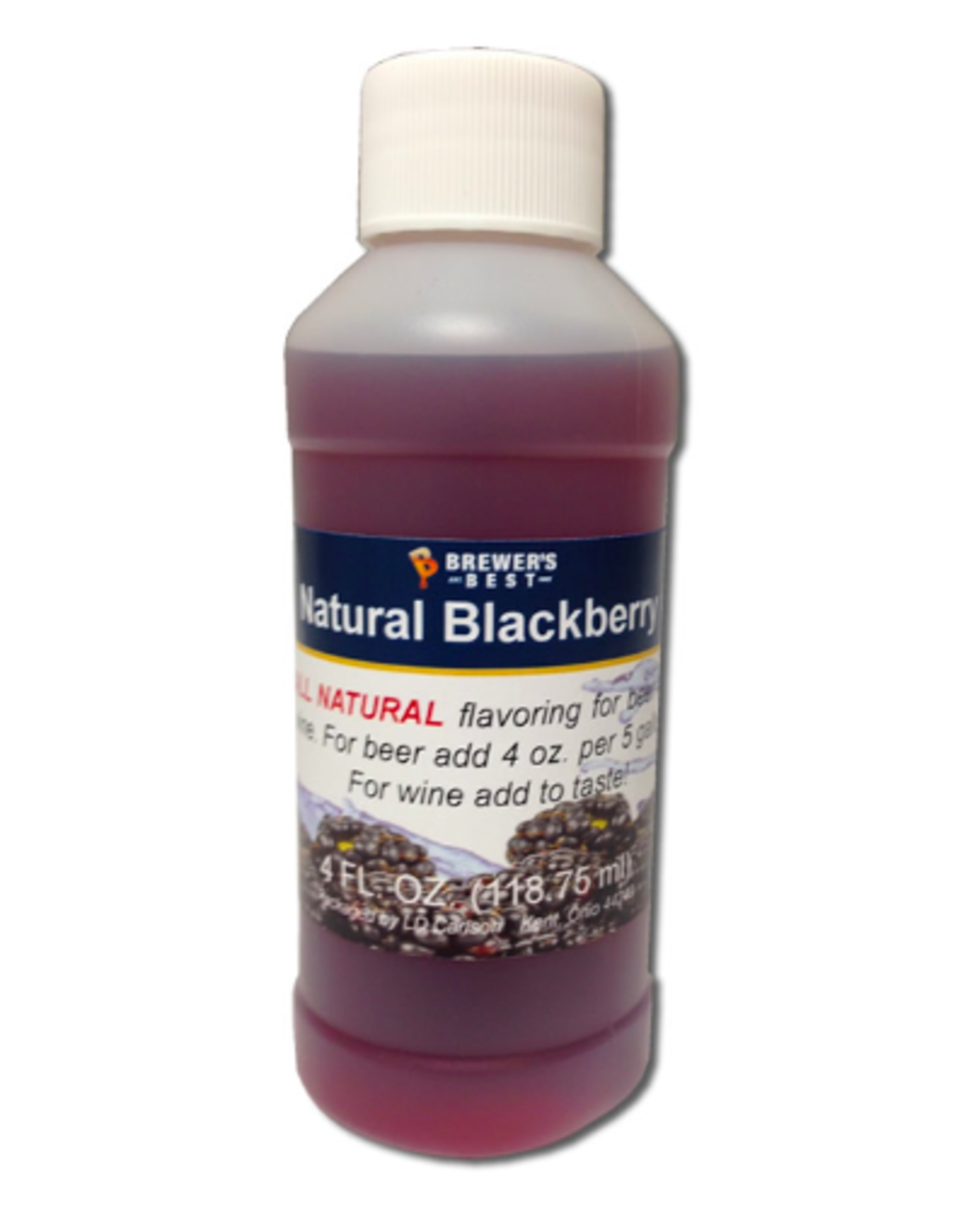 NATURAL BLACKBERRY FLAVORING EXTRACT 4 OZ
