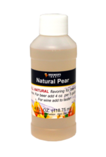 NATURAL PEAR FLAVORING EXTRACT 4 OZ