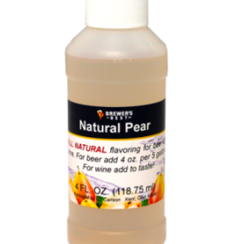 BREWERS BEST NATURAL PEAR FLAVORING EXTRACT 4 OZ