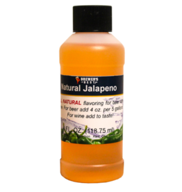 NATURAL JALAPENO FLAVORING EXTRACT 4 OZ