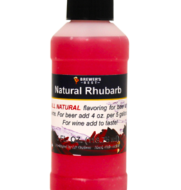 BREWERS BEST NATURAL RHUBARB FLAVORING EXTRACT 4 OZ