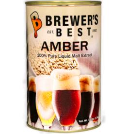 BREWERS BEST AMBER LIQUID MALT EXTRACT 3.3 LB