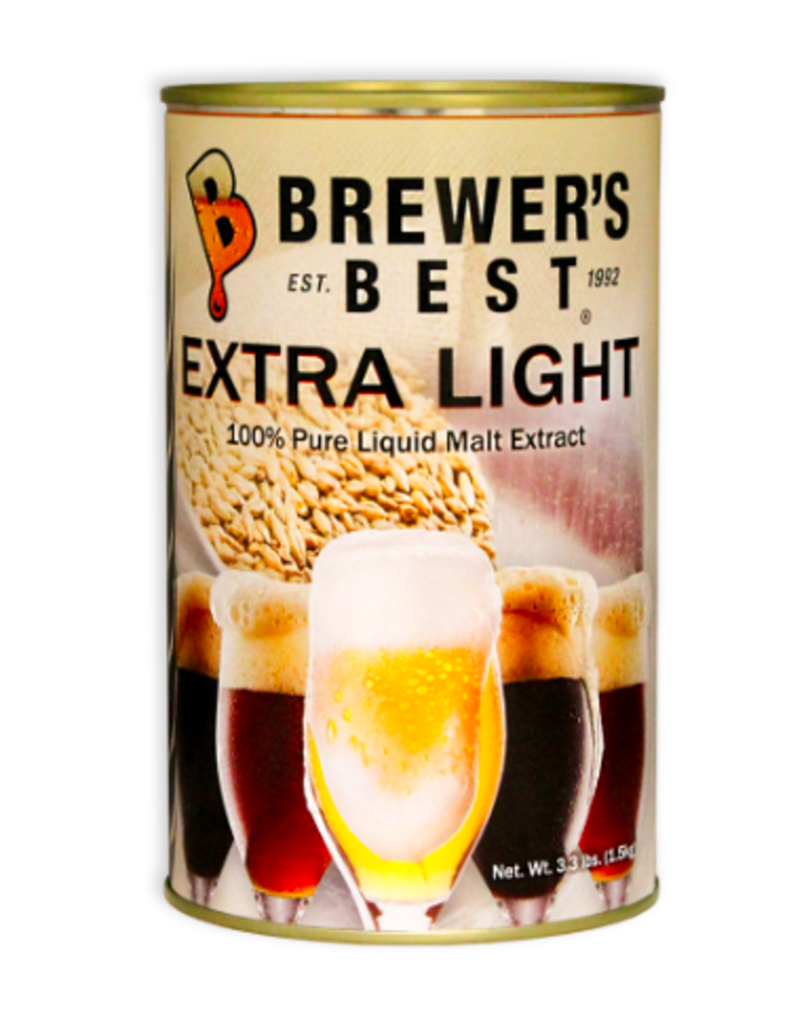 EXTRA LIGHT LIQUID MALT EXTRACT 3.3 LB
