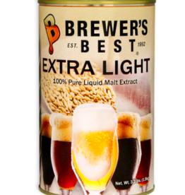 BREWERS BEST EXTRA LIGHT LIQUID MALT EXTRACT 3.3 LB