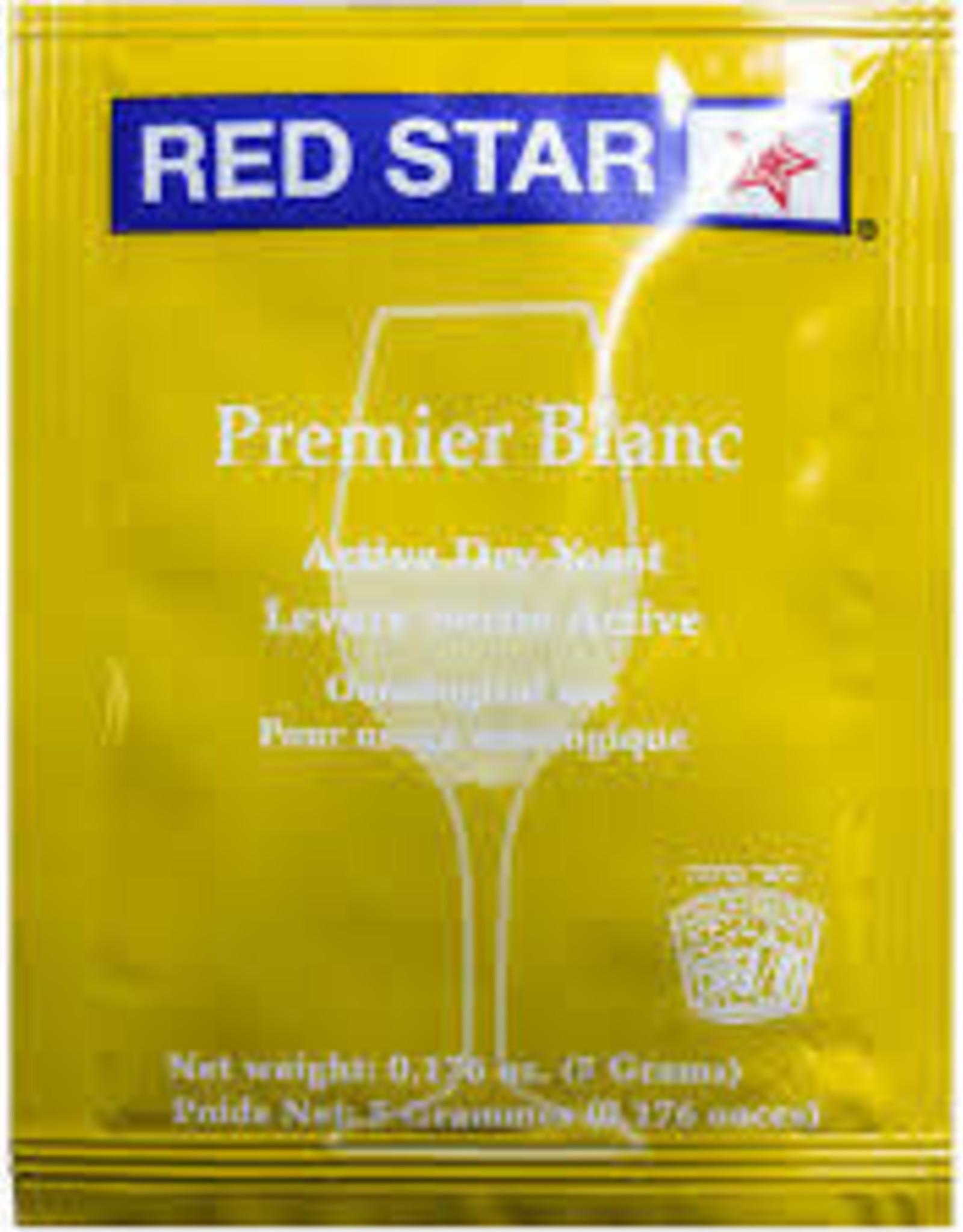PREMIER BLANC RED STAR 5 GRAM WINE YEAST