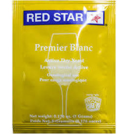 PREMIER BLANC RED STAR 5 GRAM WINE YEAST
