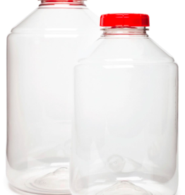 PET CARBOY 6 GALLON INCLUDES LID W/HOLE