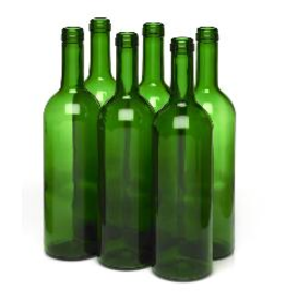 750mL CHAMPAGNE GREEN BORDEAUX W5-VG
