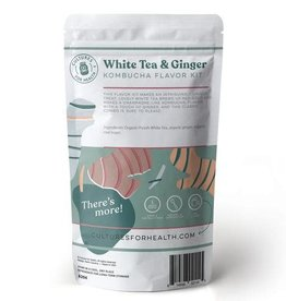 CULTURE FOR HEALTH WHITE TEA & GINGER KOMBUCHA FLAVOR KIT