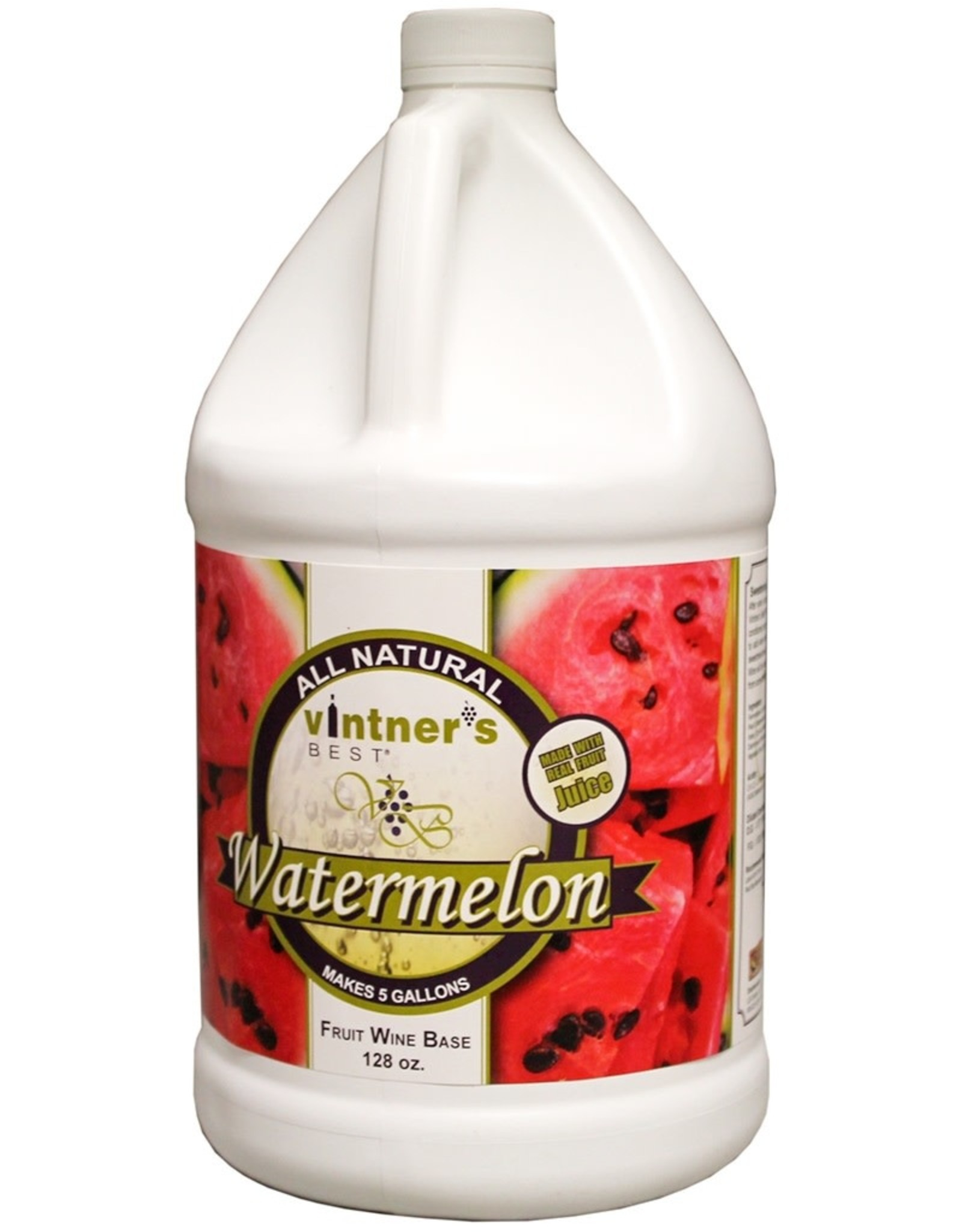 WATERMELON FRUIT WINE BASE 128 OZ (1 GAL