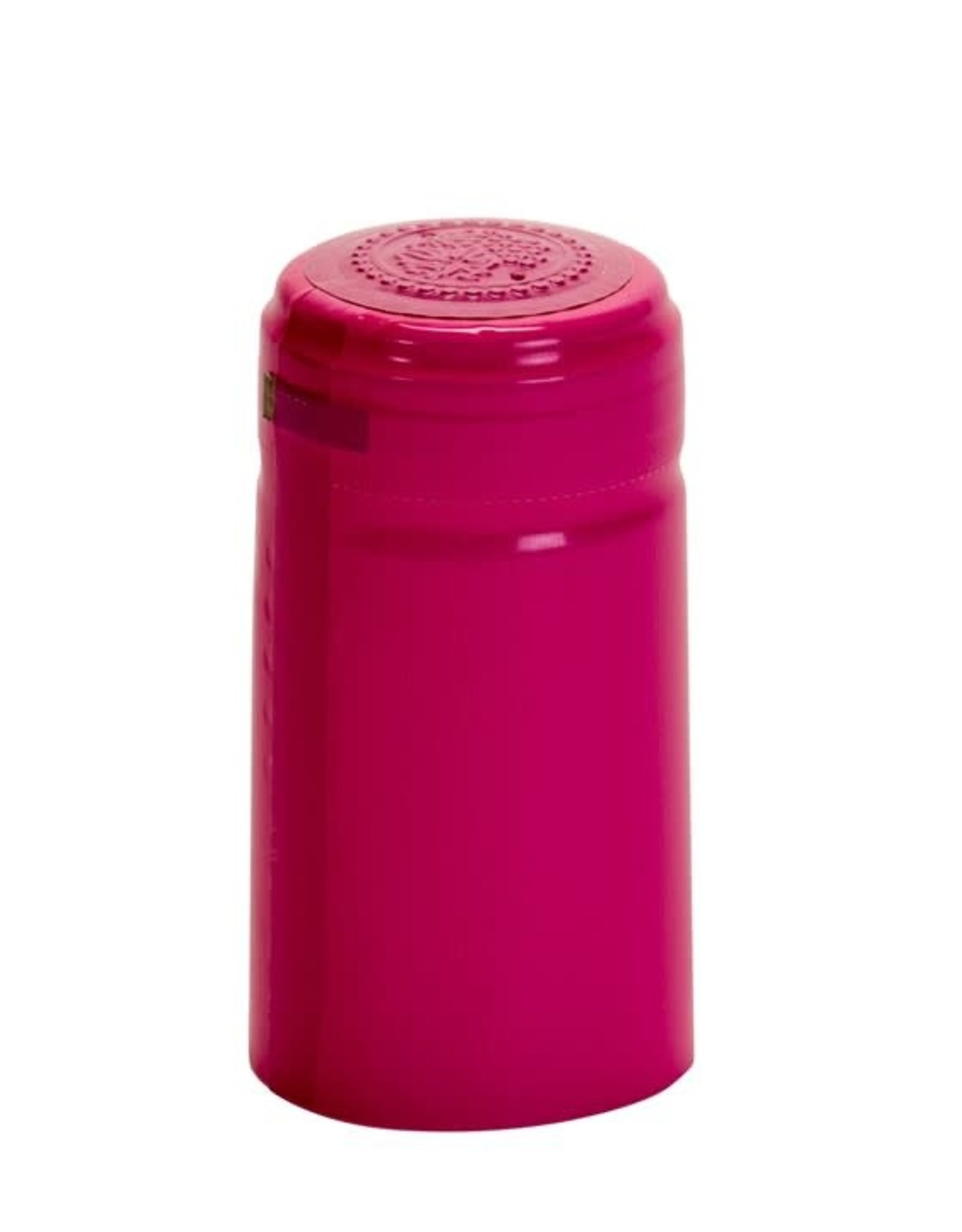 PINK GLOSS PVC SHRINK CAPSULES 30 COUNT