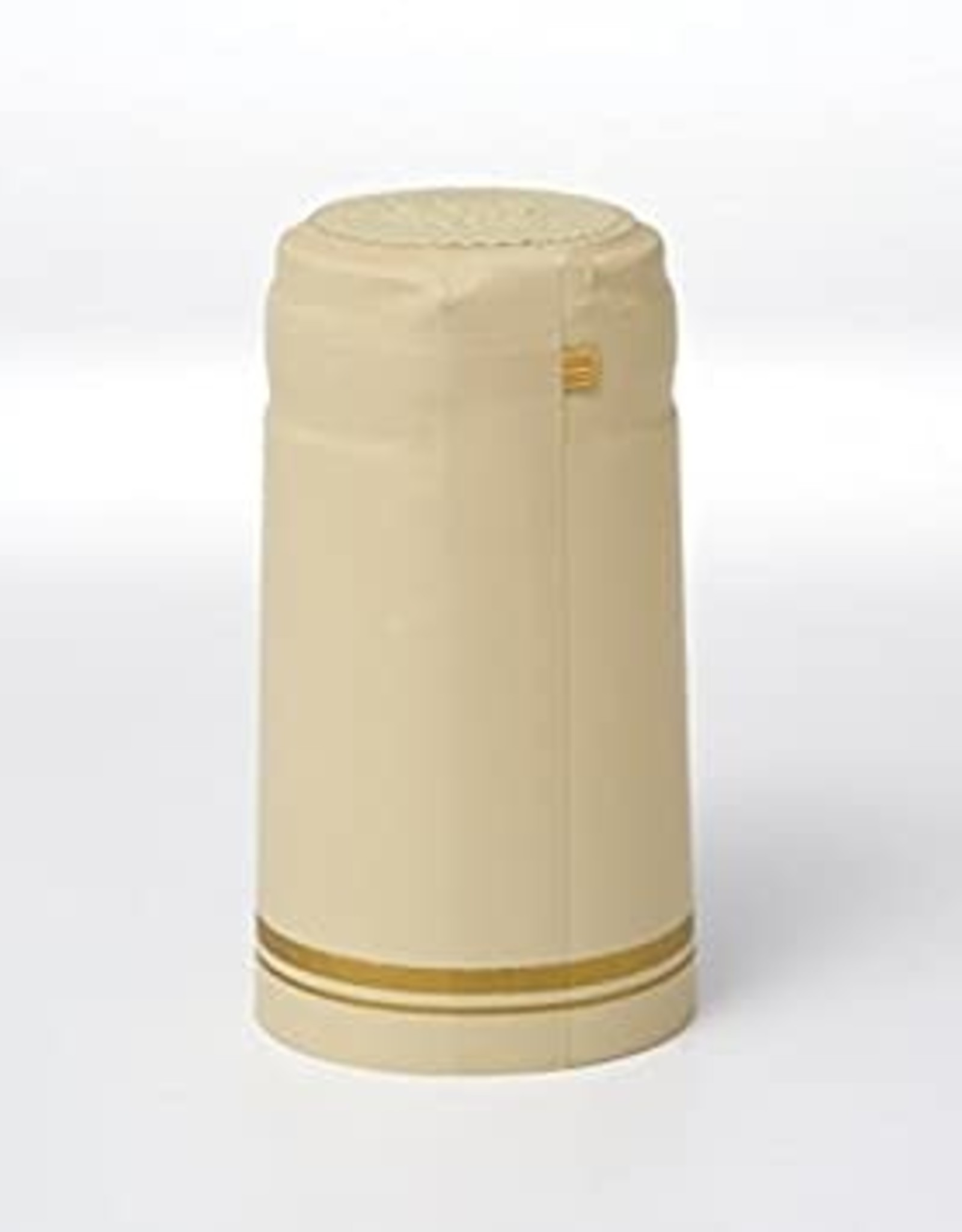 CREAM W/ 2 GOLD STRIPE PVC SHRINK CAPSULES 30 COUNT