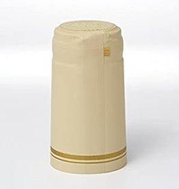 CREAM W/ 2 GOLD STRIPE PVC SHRINK CAPSULES 30 COUNT