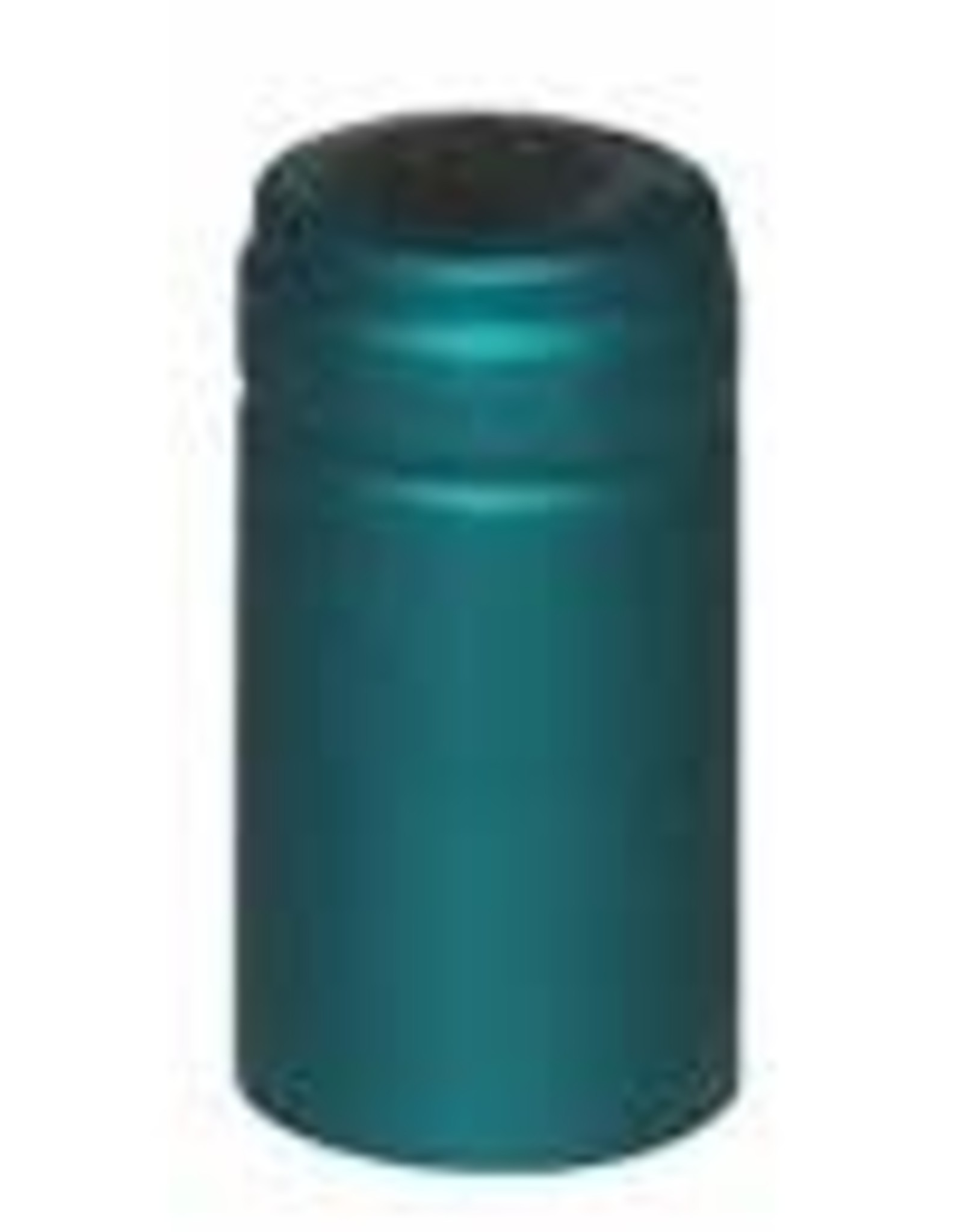 TURQUOISE PVC SHRINK CAPSULES 30 COUNT