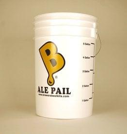 """ALE PAIL"" 6.5 GALLON FERMENTING BUCKET"