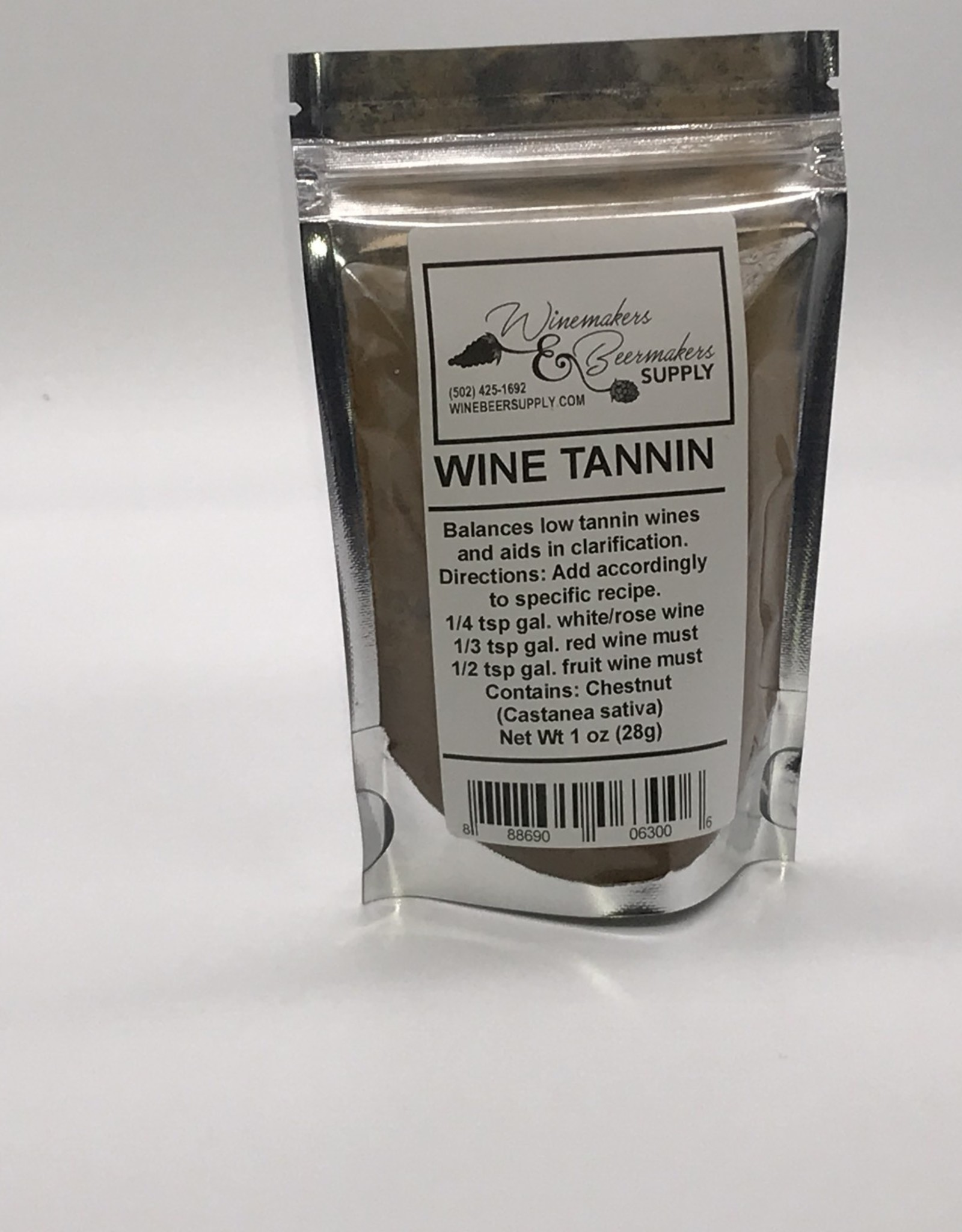 WINE TANNIN POWDER 1 OZ