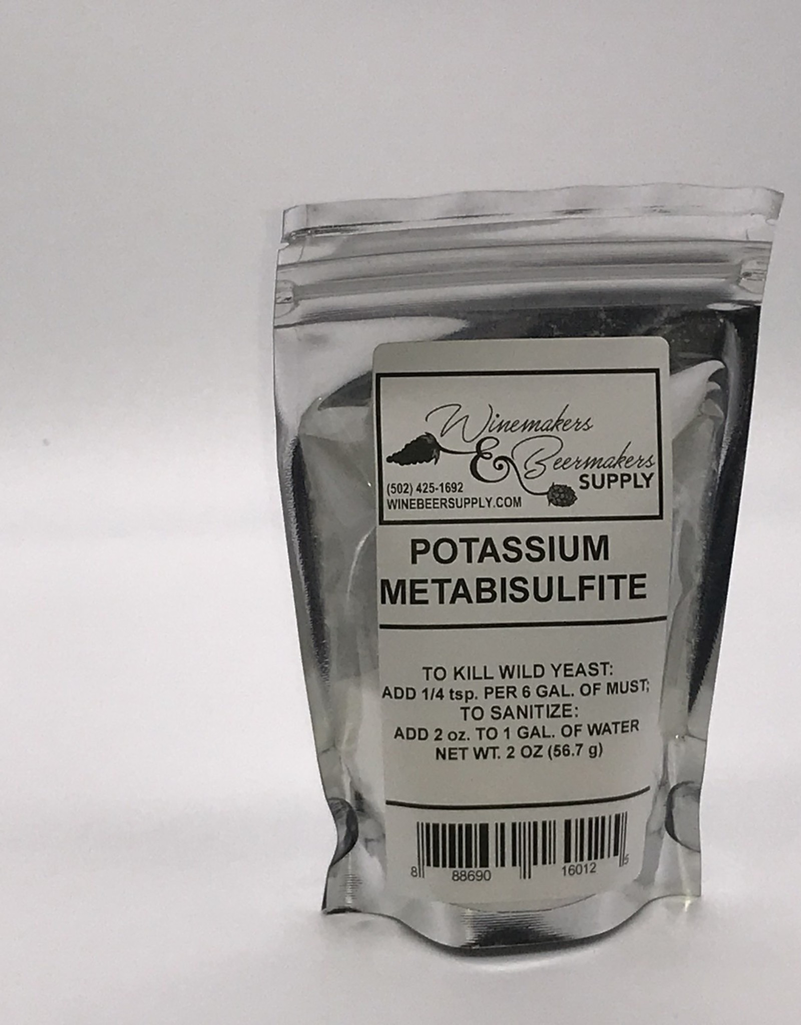POTASSIUM METABISULPHITE 2 OZ