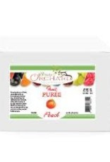 BREWER'S ORCHARD NATURAL PEACH FRUIT PUREE 4.4 LB